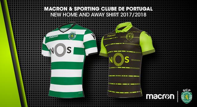 db8b7fe415e Sporting Clube de Portugal & Macron launch new 2017/18 kits!