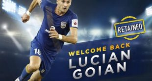 Mumbai City FC retains Romania defender Lucian Goian for ISL-4!