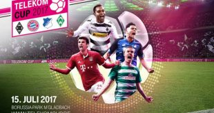 Bundesliga clubs to kick-off 2017/18 season at the Telekom Cup 2017!