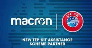 UEFA chooses Macron as the new partner for the TEP Kit Assistance Scheme!