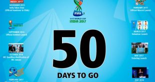 2017 FIFA U-17 World Cup: India's biggest sports tournament kicks-off in 50 days!