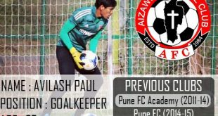 I-League champions Aizawl FC sign young goalkeeper Avilash Paul!