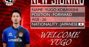I-League champions Aizawl FC sign Japanese striker Yugo Kobayashi!