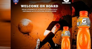 Gatorade joins hands with Delhi Dynamos for Football Development!