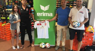 Jahn Regensburg becomes the first cooperation partner of ERIMA in Futsal!