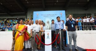 2017 FIFA U-17 World Cup Trophy Experience kicks off in New Delhi!