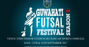 Guwahati City FC is all set to host second Guwahati Futsal Festival!