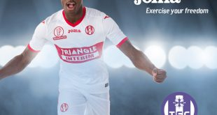 Joma & Toulouse FC present the 2017/2018 season away shirt!