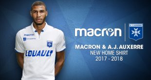 Macron & AJ Auxerre present the new 2017/18 season kits!