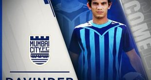 Mumbai City FC sign young defender Davinder Singh for ISL-4!