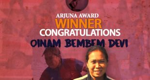 Oinam Bembem Devi set to receive Arjuna Award!