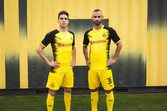 132005fccb9 PUMA & Borussia Dortmund present the new kit for European fixtures!
