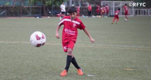 13-year old RF Young Champs star Kshitij Kumar selected to play for Dutch side NEC Nijmegen U-15s!