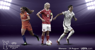 Harder, Marozsán & Martens on UEFA Women's Player of the Year shortlist!