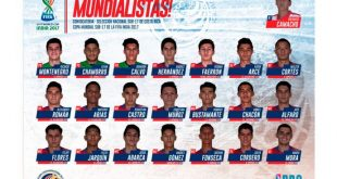 Costa Rica name 21-member squad for 2017 FIFA U-17 World Cup in India!