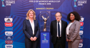Official Emblem for 2018 FIFA U-20 Women's World Cup in France unveiled!