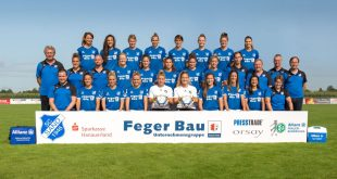 ERIMA kit the German Women's Bundesliga side SC Sand!
