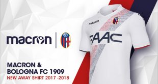 Bologna FC 1909 & Macron present the clubs new 2017/18 away shirt!