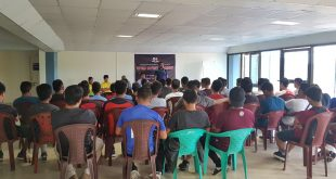 Mizoram FA organise Futsal Referee Workshop!