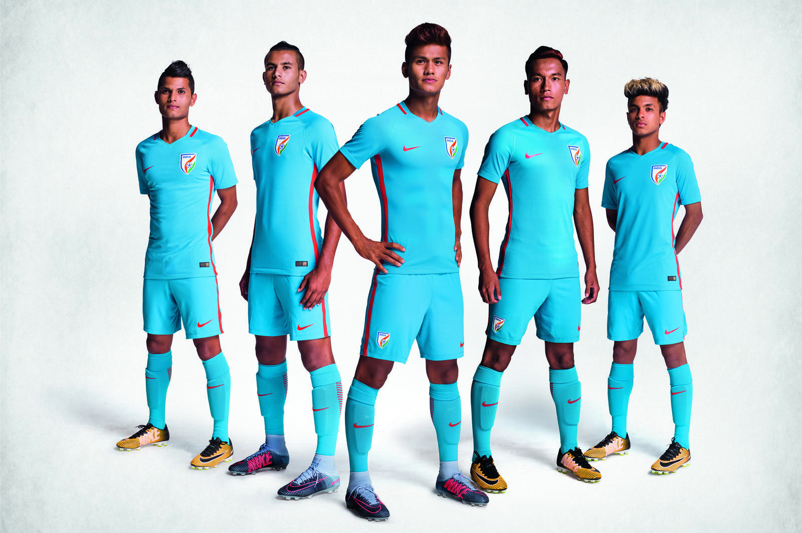 85d06889d71 Nike launch India s New Football Kit for the 2017 FIFA U-17 World Cup!