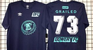 "VIDEO – UMBRO: The Bowery FC 3rd Kit – ""ONLY"" Edition!"