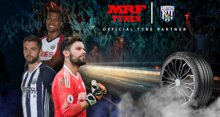 MRF become West Bromwich Albion's Official Tyre Partner!