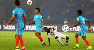 India U-17 end 2017 FIFA U-17 World Cup campaign with 0-4 loss to Ghana!
