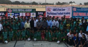 J&K State Football Academy launches in Jammu!