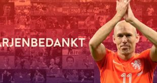 Netherlands captain Arjen Robben announces international retirement!