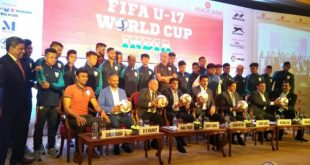 India Sports Minister Col. Rathore: Setting-Up of World Class Football Academy in Manipur under Consideration!