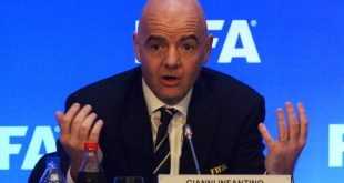 FIFA president Infantino congratulates Chennai City FC on winning maiden I-League title!