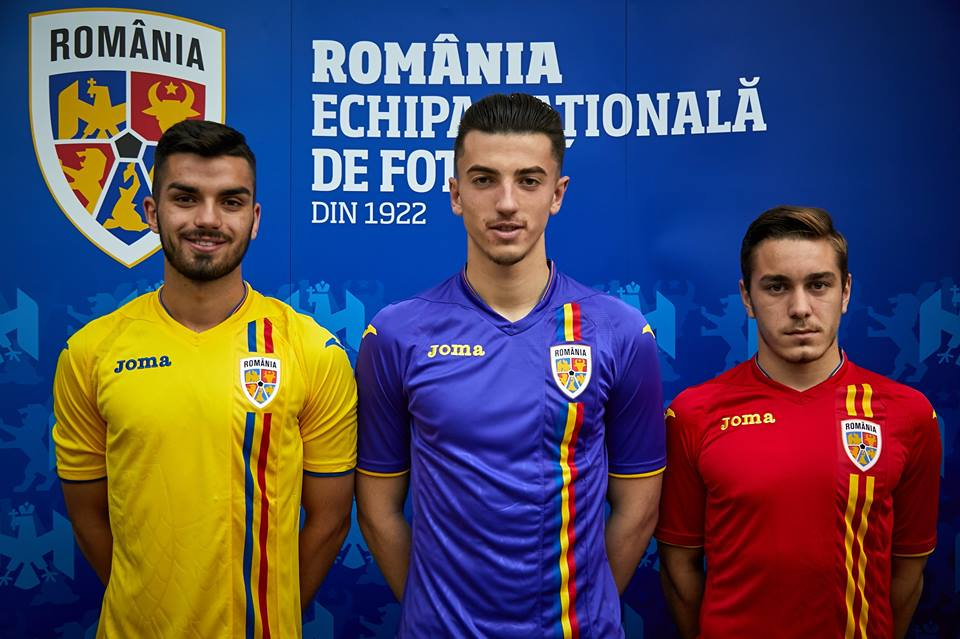 Joma present the new Romania home   away kits! 195f58319