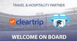 Minerva Punjab FC sign Cleartrip as the clubs official Travel & Hospitality partner!