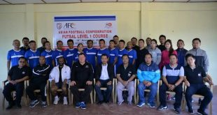 AFC Level 1 Futsal Course completed in Aizawl!