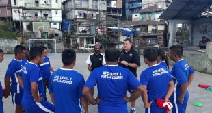 AFC Level 1 Futsal Course commences at Aizawl!