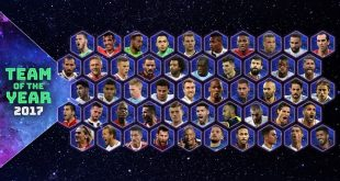 Voting starts for UEFA.com Fans' Team of the Year!