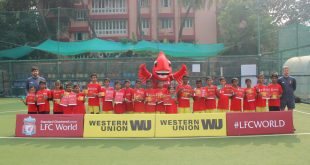Liverpool FC & Western Union host free football clinics for Underprivileged Children in Mumbai!
