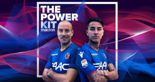 Surprise Macron presentation of the Bologna FC 2017/18 third kit!