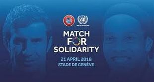 UEFA and the United Nations team up for humanitarian causes!