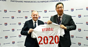 Hyundai extends sponsorship of Olympique Lyonnais until 2020!