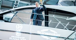 Sunseeker announced as official partner of 2018 FIFA World Cup in Russia!