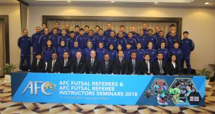 AFC Futsal Referees and Instructors gear up for 2018!