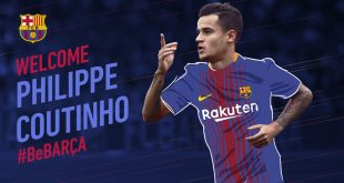 FC Barcelona sign Brazil's Philippe Coutinho from Liverpool FC!
