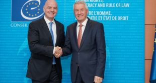 FIFA and the Council of Europe establish a strong partnership: MoU on human rights, good governance, anti-doping, anti-violence, anti-match-fixing!
