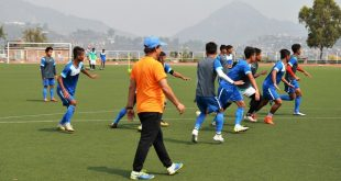 Indian Arrows impose huge challenge for Santosh Kashyap's Aizawl FC in his first I-League home game!