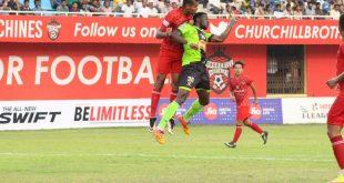 I-League: Churchill Brothers score late to hold Gokulam Kerala FC to 1-1 draw!