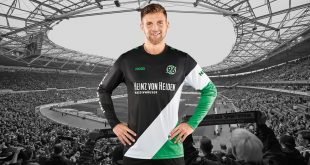 """Never Alone"": This is the special JAKO jersey for Hannover 96!"