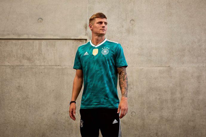 119b2b32201 VIDEO - adidas  Introducing the Germany 2018 Away Kit!