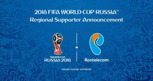 Rostelecom named Regional Supporter of 2018 FIFA World Cup for Europe!