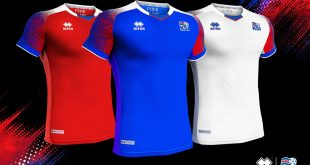 The new kit, designed by Errea for Iceland is inspired by nature's elements!